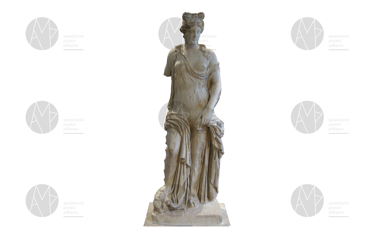 Μαρμάρινο άγαλμα Αφροδίτης, Λάππα, β΄ μισό 1ου αι. μ.Χ.
