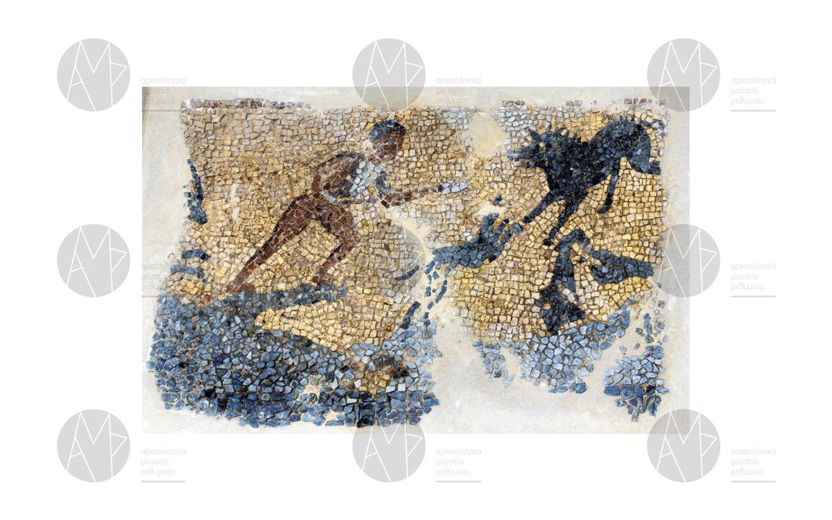Ψηφιδωτό με παράσταση κυνηγίου, Αργυρούπολη, 4ος - 5ος αι. μ.Χ.