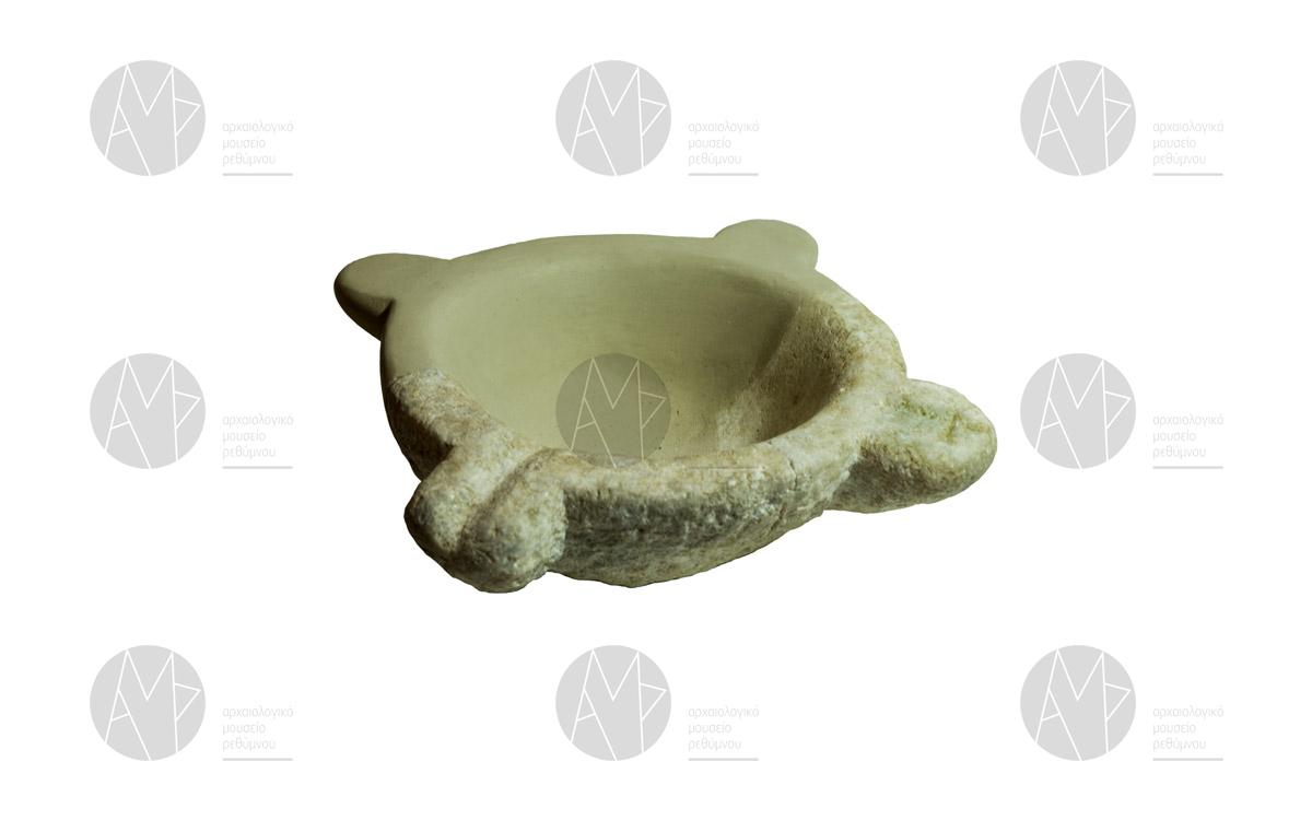 Μαρμάρινο ιγδίο (γουδί), Πάνορμο, 6ος – 7ος αι. μ.Χ.