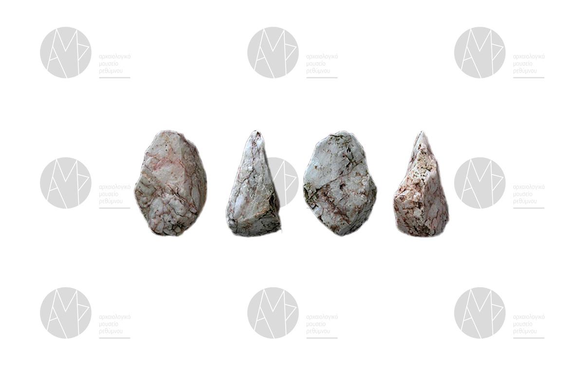 Μικρολιθικά εργαλεία Σχοινάρια, Δαμνόνι, Αμμούδι, Μεσολιθική περίοδος περ. 11000 - 7000 π.Χ