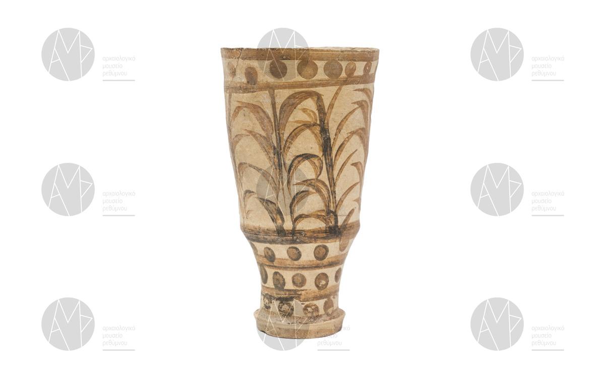 Ρυτό με διακόσμηση καλαμοειδών, Ζώμινθος, περ. 1700-1450 π.Χ.