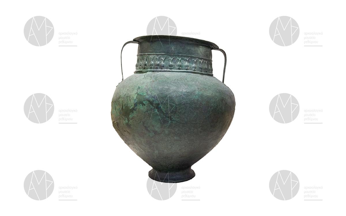 Χάλκινος Αμφοροειδής κρατήρας, Θολωτός τάφος Παντάνασσας, 11ος/ 10ος αιώνας π.Χ.