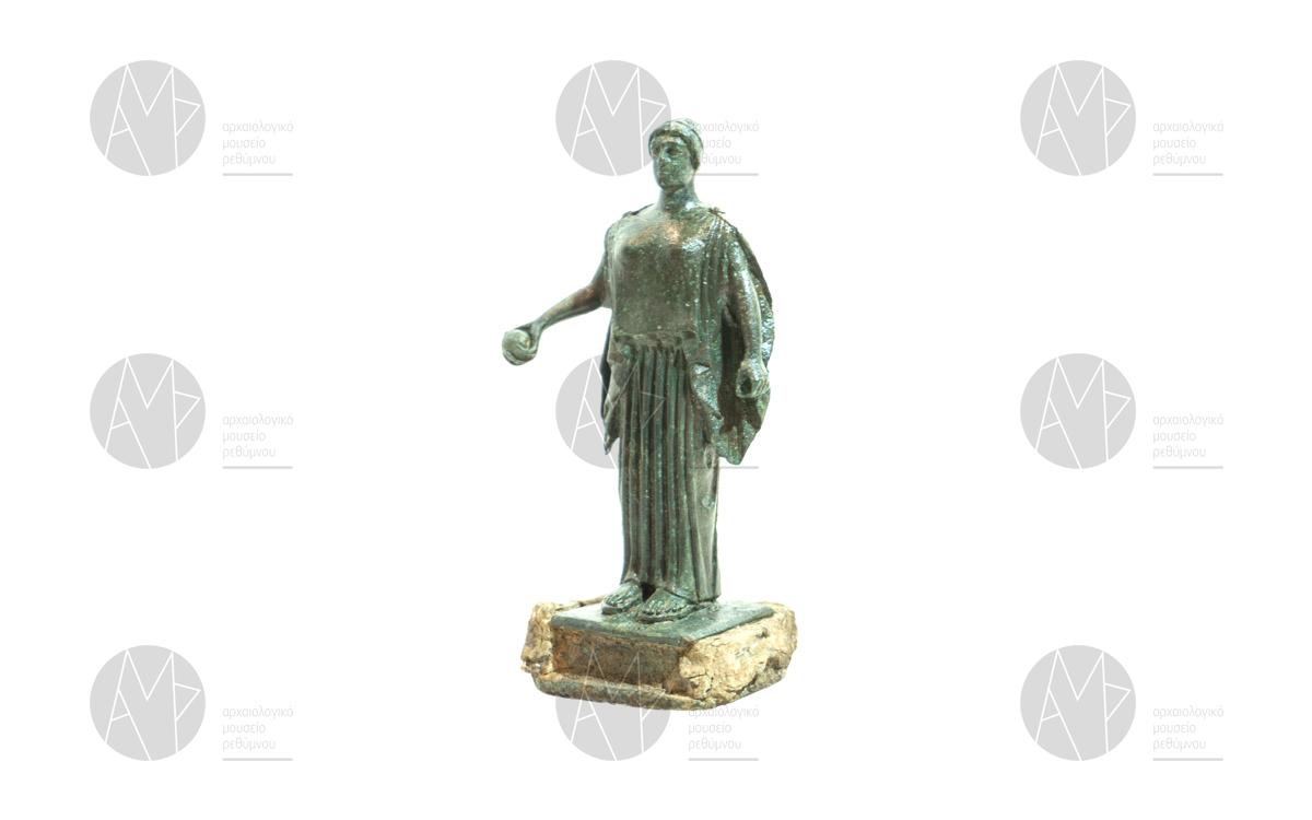 Χάλκινο ειδώλιο κόρης από τη Λάππα, α΄ μισό 5ου αι. π.Χ.